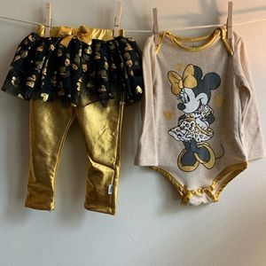 ***Baby Bundle*** Disney Minnie Mouse outfit